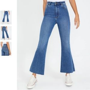 ROLLA'S EASTCOAST CROP FLARE high rise & stretch